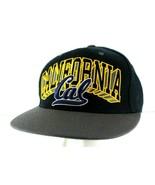 California Golden Bears Football Black/Gold Baseball Cap Snapback - £21.64 GBP