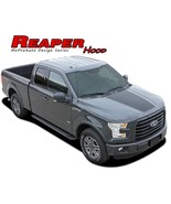 Solid Center Hood Decals Stripes 3M Vinyl Graphics Reaper 2015-2018 Ford... - $107.99