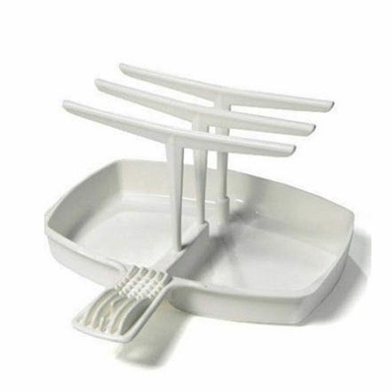Bacon Tray Rack Microwavable Cooker Shelf Cooking Tools Plasticware Hanger Set