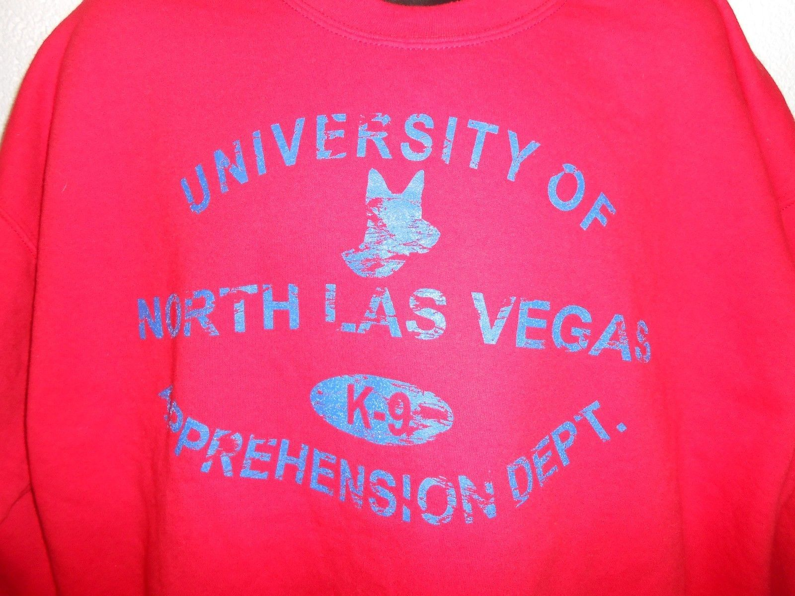 University of North Las Vegas K-9 Apprehension Dept. Sweatshirt XL