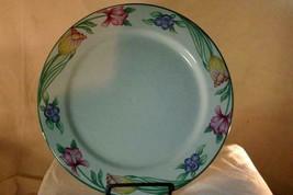 "Oneida  Tulip Garden Dinner Plate 10 7/8"" - $8.09"