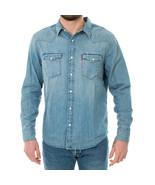 CAMICIA UOMO LEVI'S BARSTOW WESTERN STANDARD RED 85744-0001  Azzurro - $98.98