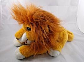 """Mattel Lion King Simba Puppet Plush Roars Sounds 12"""" Long Stuffed Animal toy - $9.95"""