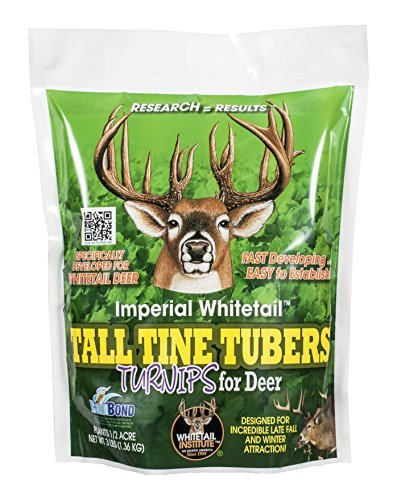 Whitetail Institute Imperial Tall Tine Tubers Food Plot (3-Pound (.5 acres))