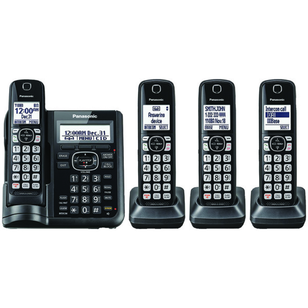Primary image for Panasonic KX-TGF544B Expandable Cordless Phone with Call Block and Answering Mac