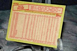 1985 Topps Pete Rose #18-MGR Reds  AA20-BTC3032 Baseball Trading Cards # 600 image 4