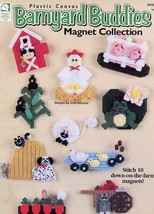 Barnyard Buddies Magnet Collection 10 Designs Plastic Canvas PATTERN/INSTRUCTION - $3.57