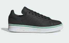 ADIDAS Originals Stan Smith New Bold Women's Casual Sneakers Black sz 7~10 - $49.97