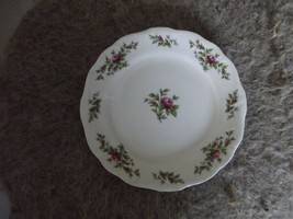 Johann Haviland-TraditionsThailand Moss Rose bread plate 4 available - $2.38