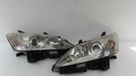 07-09 Lexus ES350 OEM HALOGEN Headlights lamps Set L&R