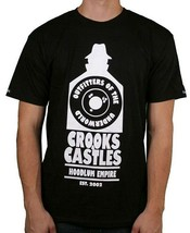 Crooks & Castles Hoodlum Empire Outfitters Of The Underworld Black T-Shirt image 1