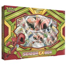Pokemon Cards Pokscizorexbx Cards Pokmon TCG: Scizor-EX Box Game, Green - $17.63