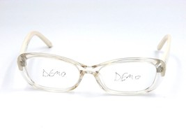 Fendi 956R Women's Eyeglasses Frame, 971 Crystal White Acetate 54-17-135... - $98.95
