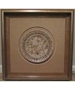"""Framed Collectible Vintage Emma Plate 10"""" Larson Juhl Sorrento  - $123.75"""