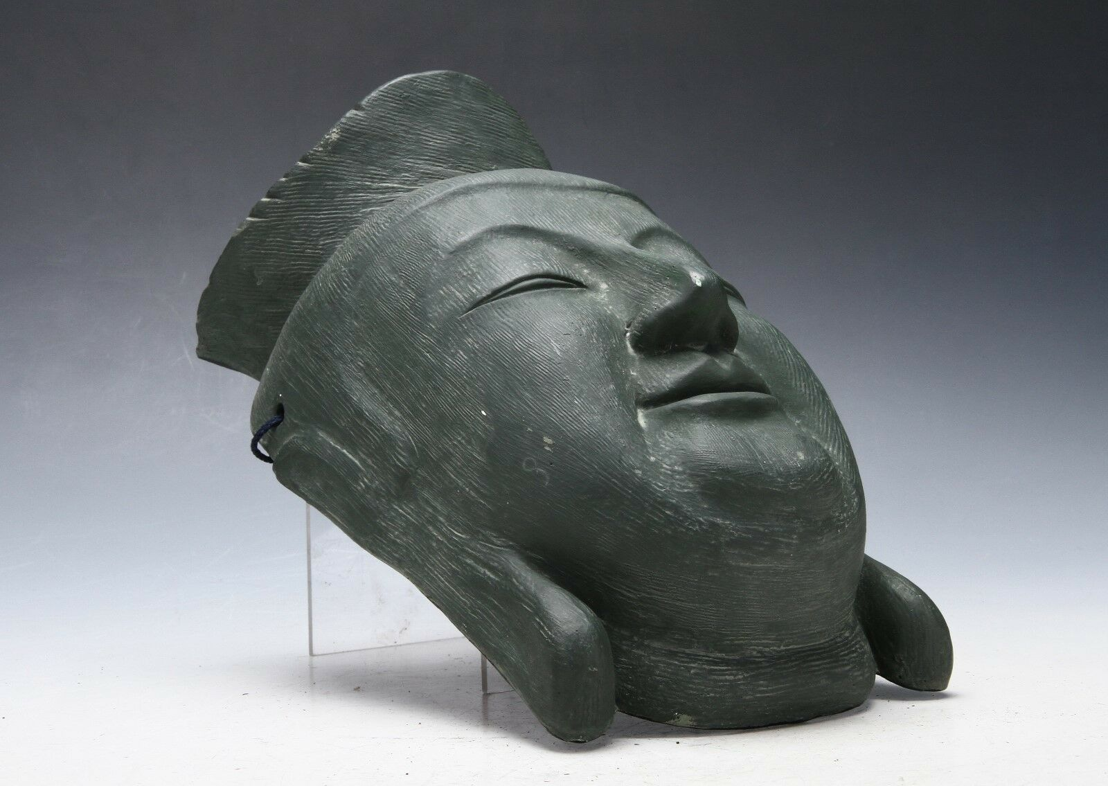 Primary image for Vintage Beautiful Plaster Buddhism Mask -Miroku- Late Showa Period