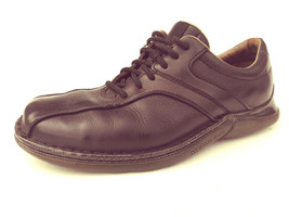 Merrell Black Oxfords Men's Dress Casual Shoe (cs) - $18.99