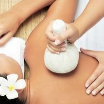 Herbal Massage Compress Ball Body Spa Thai Face Aroma 200g (7.05 Oz) image 1