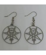 Secret Seal Thelema Sigil Earrings  - $16.00
