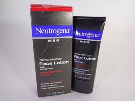 Neutrogena Men Triple Protect Face Lotion w Sunscreen SPF 20 1.7 oz [HB-N] - $10.40