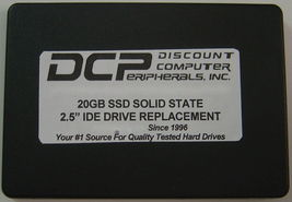 "20GB Fast SSD Replace MK2016GAP with this 2.5"" 44 PIN IDE SSD Solid State image 3"