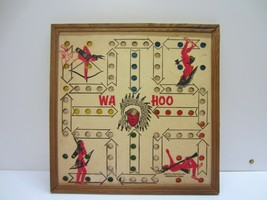 Vtg Old Wa Hoo Native American Indian Chinese Checkers Game Art Decor - $64.99