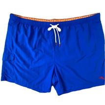 Tommy Bahama Men's size 4XLB Board Shorts Bathing Suit Swim Trunks Blue NEW - $49.49