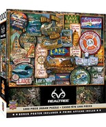 MasterPieces Realtree Off to The Lakehouse 1000 Piece Jigsaw Puzzle - $10.71