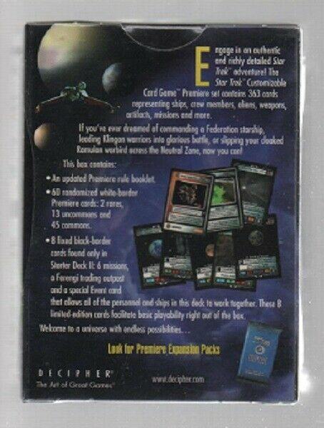 Star Trek Customizable Card Game - Premiere Starter Deck II - Decipher. image 2