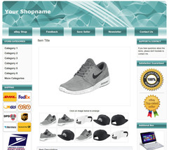 eBay Responsive Listing Template  2021 Policy Compliant. Easy editing so... - $3.99
