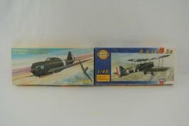 Smer R.A.F. SE-5a & Reggiane Falco Re-2000 Lot of 2 Plastic Model Kits 1... - $19.24