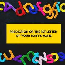 Predicting your baby's initials Same Day Psychic Prediction Reading - $6.19