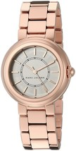 Marc Jacobs Women's MJ3466 Courtney Rose-Tone Stainless Steel Watch - $154.87