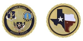"ARMY CAMP MABRY AUSTIN TEXAS MILITARY FORCES 1.75"" CHALLENGE COIN - $16.24"