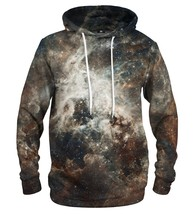 Golden Blue Galaxy Printed Hoodie | Unisex | XS-2XL | Mr.Gugu & Miss Go