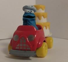 VTG Sesame Street cookie monster PLAYSKOOL Die Cast 1982 - $6.34
