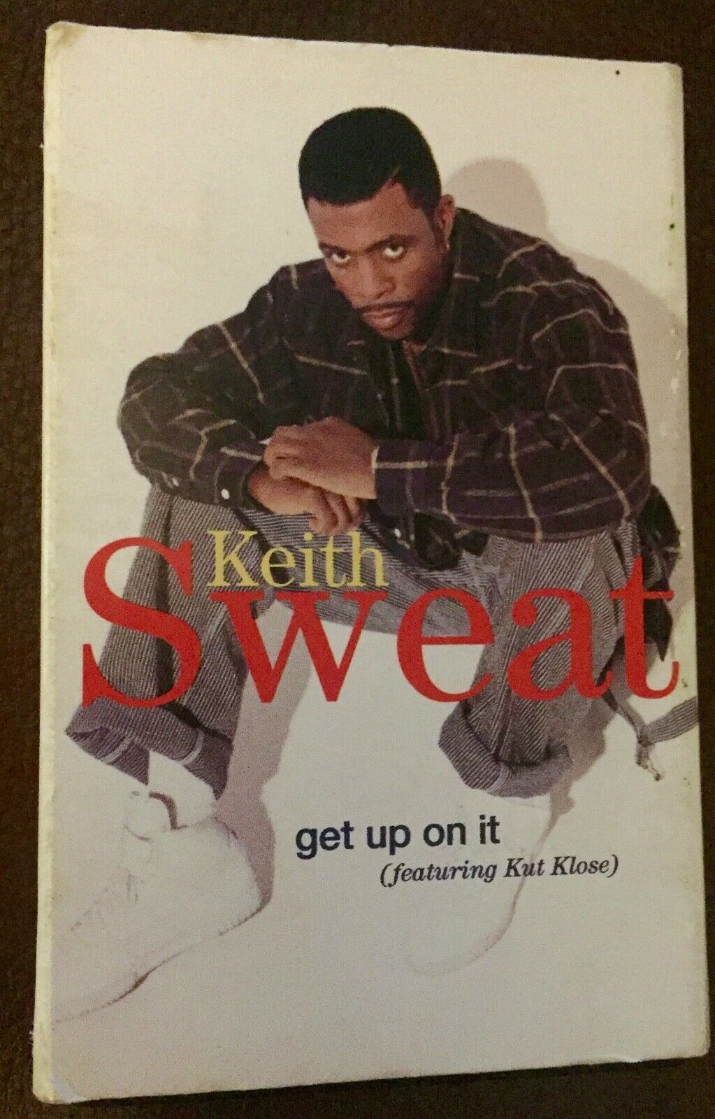Primary image for Vintage Keith Sweat Get Up on It cassette tape single PLUS Absoulute Casette