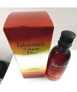 Fahrenheit 0 degree Dior Christian Dior mens cologne 100ml empty bottle ... - $24.75