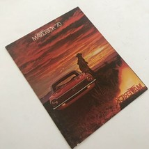 Vintage Ford Maverick 1970 Dealership Sales Brochure Paperback Booklet A... - $20.46