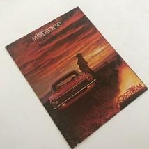 Vintage Ford Maverick 1970 Dealership Sales Brochure Paperback Booklet A2601 - $20.46