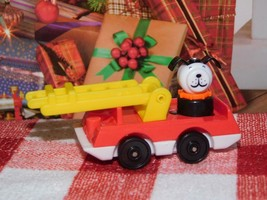 """18"""" Doll Toy Fisher Price Little People Fire Truck Mini fits Our Generat... - $15.83"""
