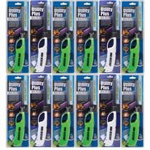 Elite Windproof Lighter Wholesale 12 Pack Jet Flame Flashlight Camping B... - $44.99