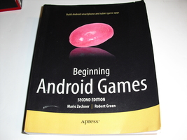 begginning android  games 2nd  edition  robert green - $9.99