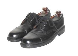 Dockers Men's Black Leather Cap Toe Oxford Shoe Size 10.5 M - $48.02