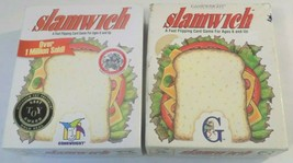 Lot of (2) Gamewright Slamwich Card Games--FREE SHIPPING! - $14.73