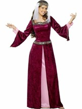 Maid Marion Costume, Tales of Old England Fancy Dress, UK Size 24-26 - $50.53