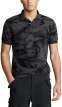 Polo Ralph Lauren CAMO/CHARCOAL Classic Fit Mesh Polo Shirt, US Small - $49.01