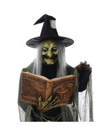 Life Size Animated SPELL SPEAKING WITCH Haunted House Halloween Prop Dec... - $197.97