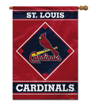 """St. Louis Cardinals W 28"""" x 40"""" 1- Sided House Banner - $35.95"""