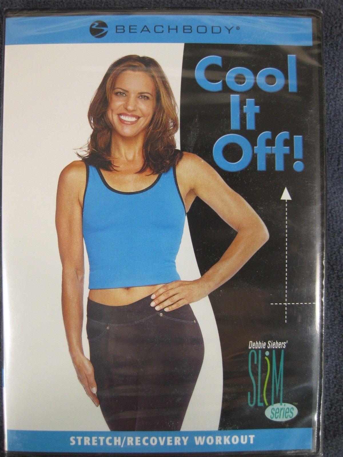 Debbie Siebers Slim in 6 Cool It Off Beachbody DVD Stretch Recovery New Sealed