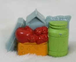 Fisher Price Loving Family Dollhouse Groceries Food Eggs Apples Strawber... - $9.89